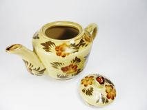 Чайники глины Стоковое фото RF