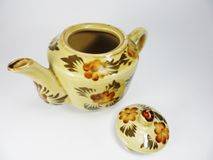 Чайники глины Стоковое Изображение