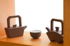 Чайники и чашка Стоковая Фотография RF