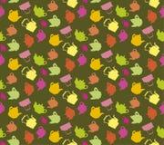 Чайники сортированные цветом Стоковые Фото