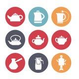 Чайники для кухни Стоковое Изображение RF