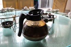 Чайник в ресторане Стоковые Фото