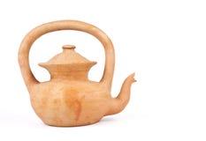 чайник глины Стоковое Изображение RF