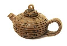 чайник глины Стоковое Изображение