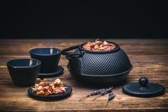 Чайник и чашка Стоковая Фотография