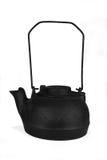чайник литого железа старый Стоковое Изображение
