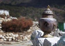 Чайник на стене Стоковое Изображение RF