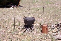 чайник старый стоковые фото