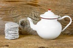 чайник старый Стоковое Изображение