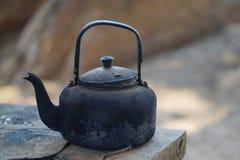 чайник старый Стоковые Изображения