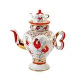 чайник фарфора Стоковые Изображения