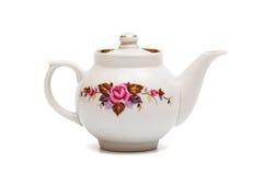 чайник фарфора стоковые изображения rf