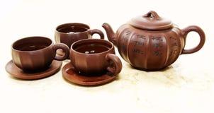чайник чашка Стоковые Изображения