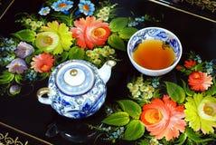 чайник чашки Стоковые Изображения
