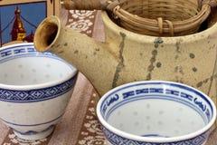 чайник чашки Стоковые Фотографии RF