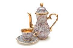 чайник чашки Стоковое фото RF