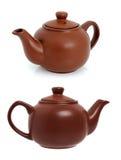 чайник чая заваривать керамический стоковые фото