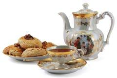 чайник чая чашки Стоковые Фотографии RF
