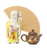 чайник oriental фокуса состава Стоковое Изображение