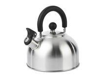 Чайник Stovetop свистя Стоковые Изображения RF
