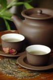 чай азиата установленный Стоковые Изображения