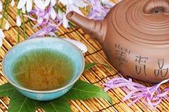 чай азиата установленный Стоковые Фотографии RF