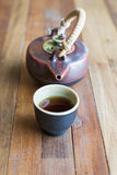 чай азиата установленный Стоковые Фото