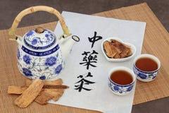 Чай астрагала травяной Стоковое фото RF