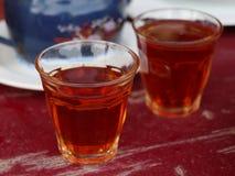 Чай бедуина в стеклах Стоковое Изображение RF