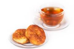чай блинчика curd стоковые изображения