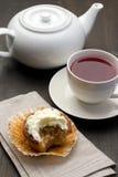 чай булочки Стоковое Изображение