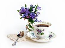 чай весеннего времени Стоковые Фотографии RF