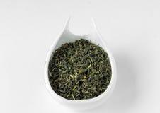 Чай весны улитки зеленого цвета Biluochun (chun lo pi) Стоковая Фотография RF