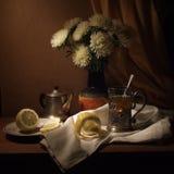 чай вечера Стоковые Фотографии RF
