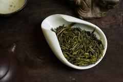 Чай в куче Стоковые Фото