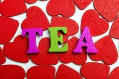 Чай влюбленности Стоковое Фото