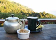 чай горы Стоковые Изображения RF