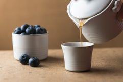 Чай голубики Стоковые Фото