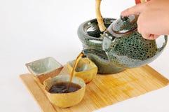 Чай делая комплект Стоковое фото RF
