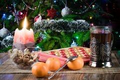Чай для рождества стоковое изображение rf