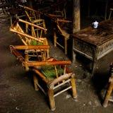 чай дома chengdu стоковые фотографии rf