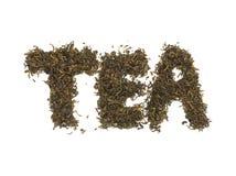Чай. Зеленый чай Стоковое Изображение