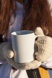 Чай зимы Стоковая Фотография RF