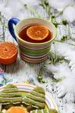 Чай зимы Стоковое Изображение RF