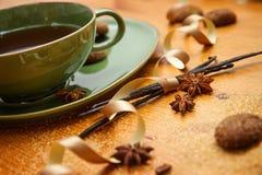 Чай зимы Стоковое Фото