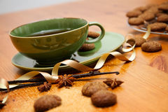 Чай зимы Стоковые Фотографии RF