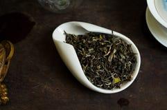 Чай изолированный в стеклянной чашке Стоковые Фотографии RF