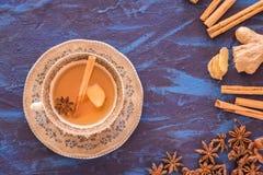 Чай имбиря стоковые фотографии rf