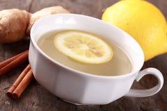 Чай имбиря Стоковое фото RF