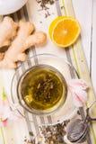 чай имбиря Стоковое Изображение RF